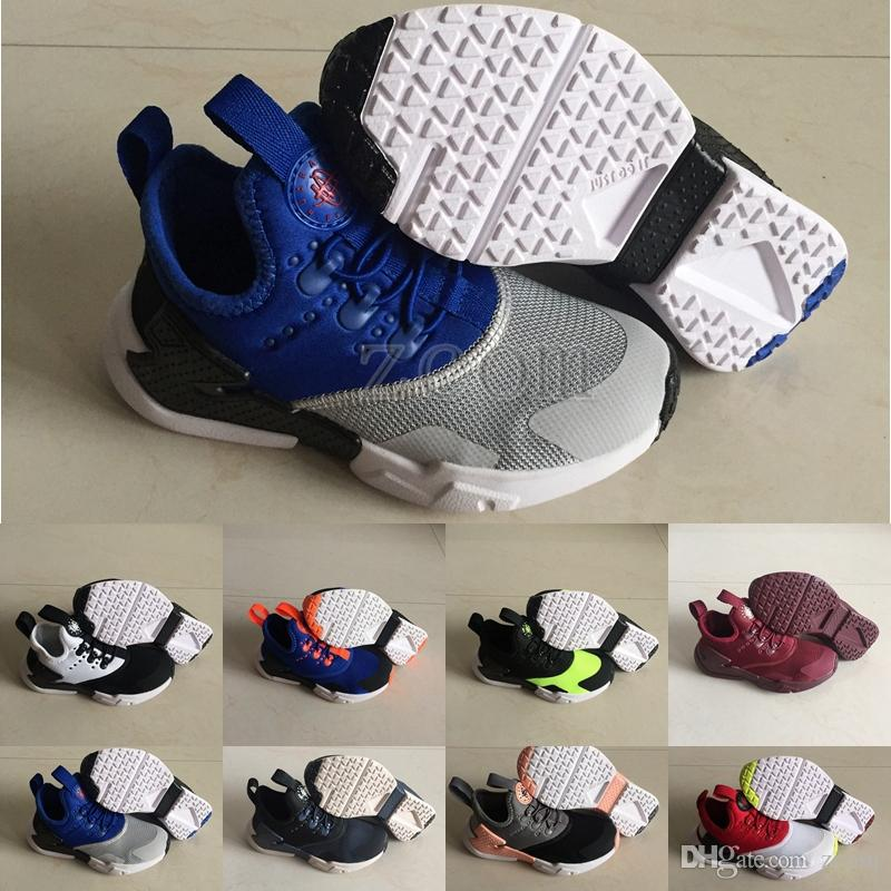 93fce83bbdd90e 2019 Air Huarache Kids Designer Boys Girls Running Shoes Children Huaraches  6 Drift Infant Hurache Just Do It Sports Trainers Sneakers Best Running  Shoes ...