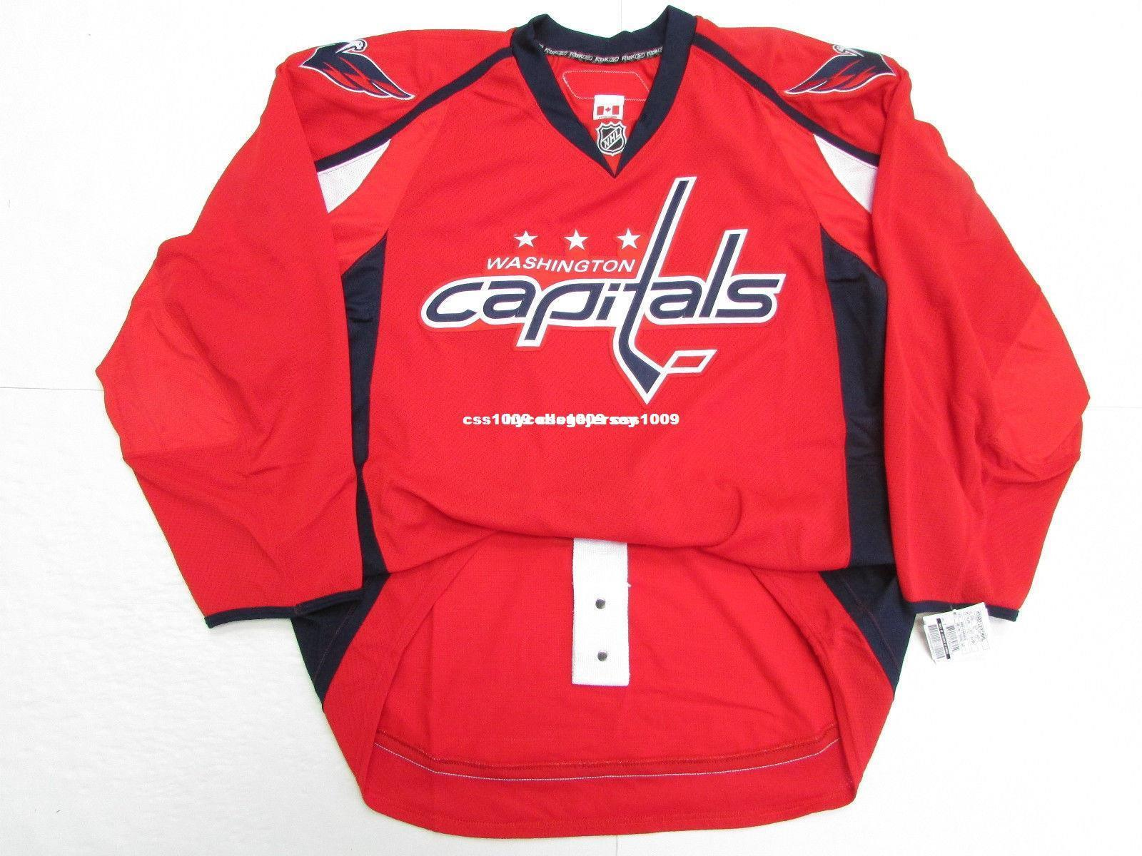 911cb0774cb 2019 Cheap Custom WASHINGTON CAPITALS HOME TEAM ISSUE EDGE 2.0 7287 JERSEY  Stitch Add Any Number Any Name Mens Hockey Jersey XS 6XL From  Hycollegejersey, ...