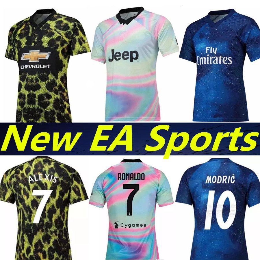 b257f4be4 4th EA Sports 2019 RONALDO JUVENTUS Soccer Jerseys Real Madrid ...