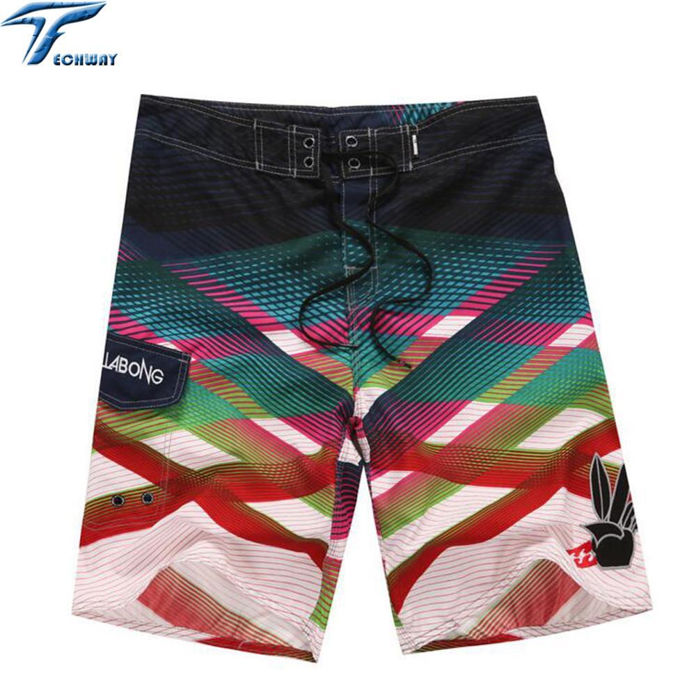 323709b294 2019 Summer Men's Clothing Beach Shorts Travel Men's Beach Short Surf  Bermuda Board Beach Print Quick Dry Boardshorts C19040801