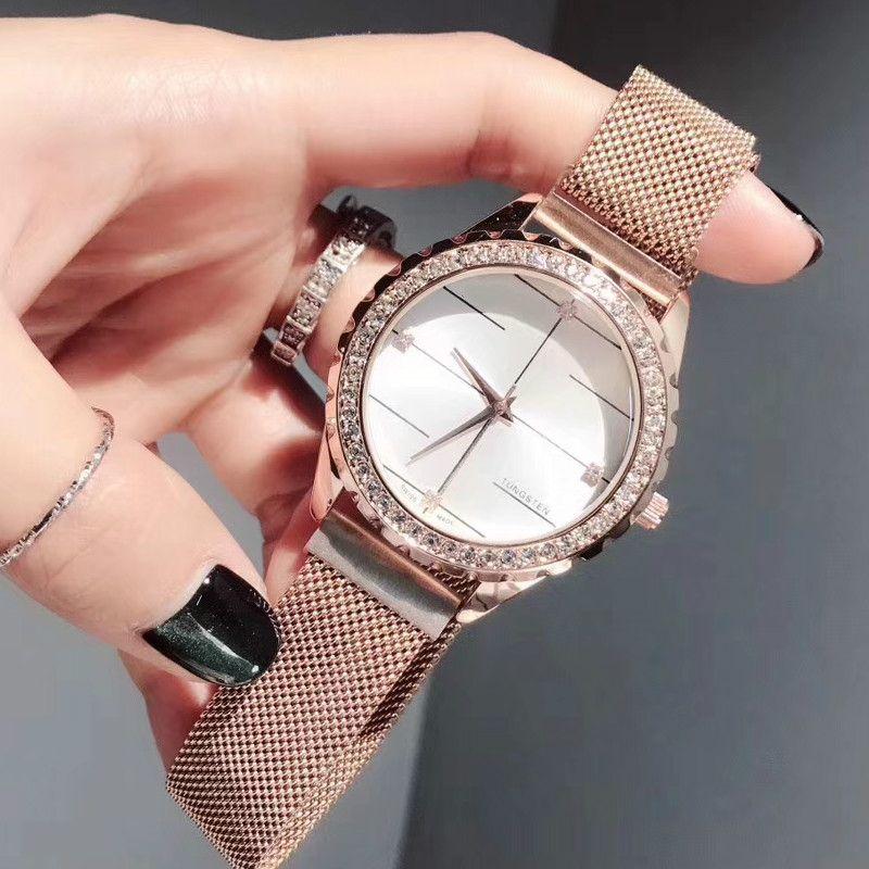 8448553e9410 Compre Relojes Rolxe MK Para Mujer Reloj De Cuarzo Reloj De Lujo Acero Fino  Reloj De Moda Para Chicas De Alta Calidad A  35.54 Del Nenedi