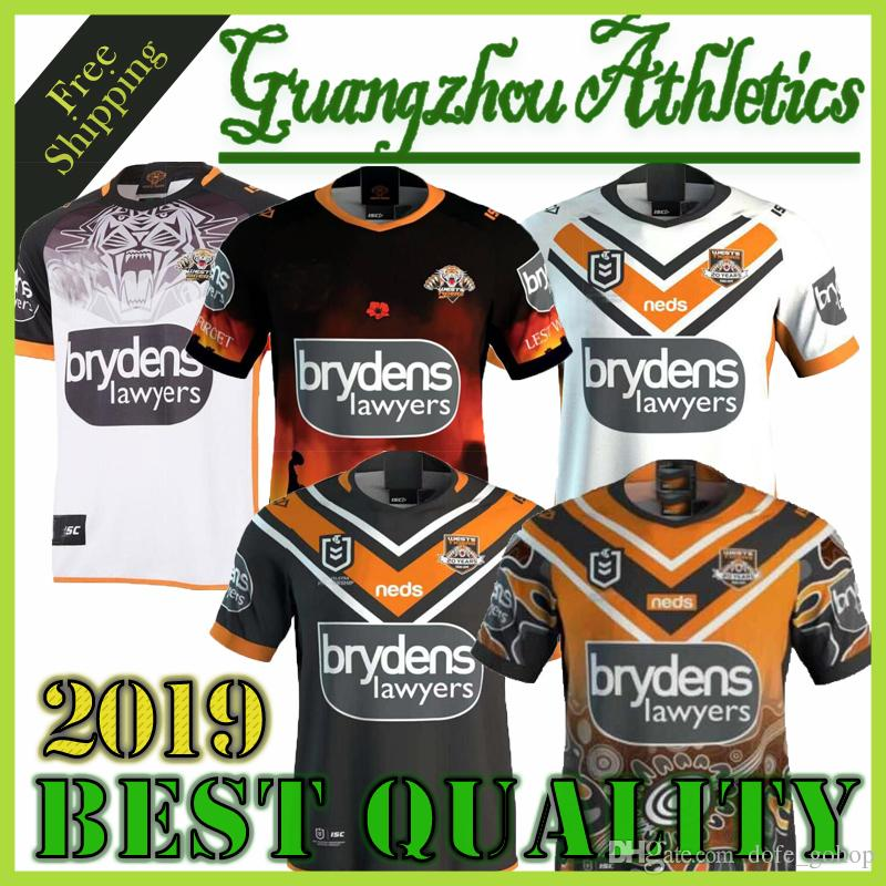 7edb77a4a39 2019 New 2019 Brisbane Broncos Rugby Jerseys West Tigers MAORI KIWIS SYDNEY  ROOSTERS Cowboys Warriors Eels KNIGHTS St. George Holton Rugby Jersey From  ...