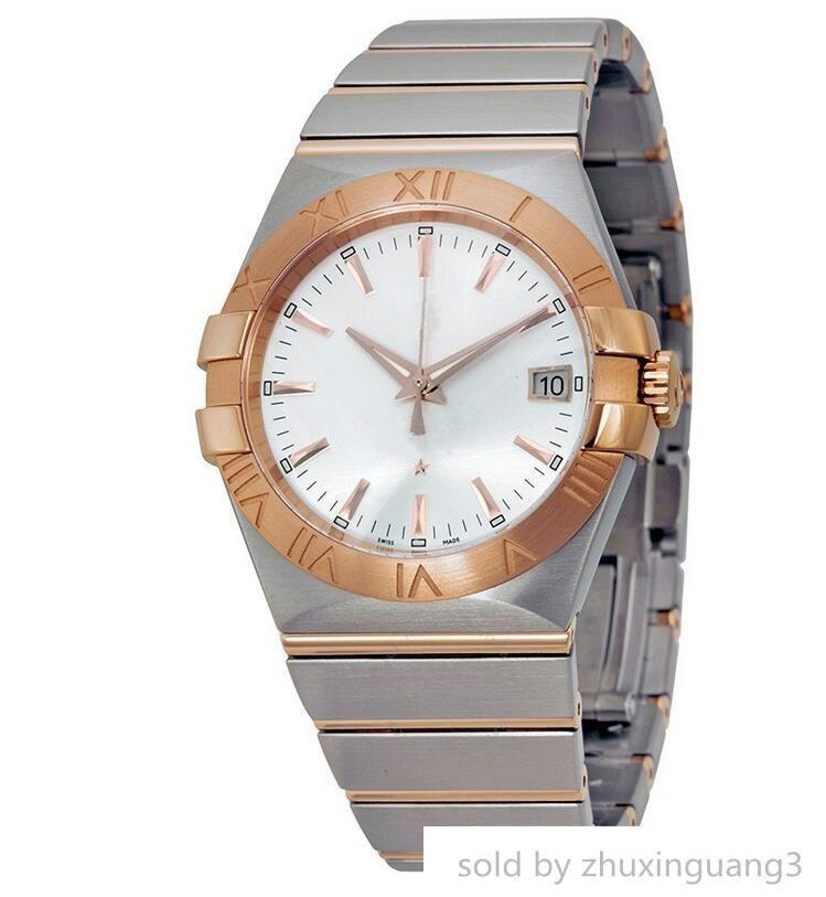 Quality 123.20.35.20.02.001 Automatic Rose Gold Stainless Steel Men 35 Mm 12320352002001 With Box