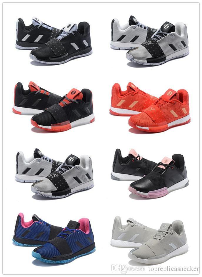 2019 2019 Newest James Harden 3 Vol 3 Men S Basketball Shoes High