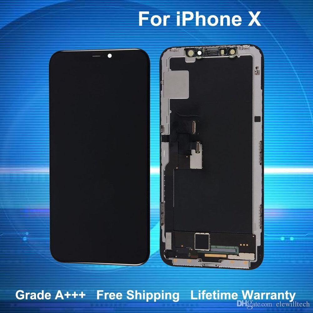 88faf1a1ce3 Pantallas Y Moviles Para IPhone X Pantalla LCD Pantalla Táctil  Digitalizador Grado A +++ Calidad TFT Con Garantía De Por Vida Envío Gratis  Repuestos Moviles ...