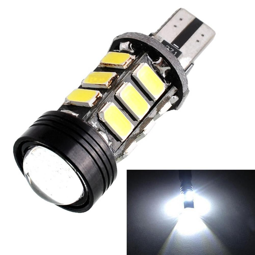 Energy-saving Lamps DC 12V White T15 15W LED Car Backup Lightings Vehicle Reverse Bulb Brake High Quality Car Light Lamp