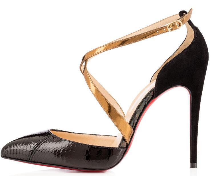 new concept 9e793 fd954 Christian Louboutin CL Fashion classic high heel women's shoes wedding  shoes bridal shoes sandals l1