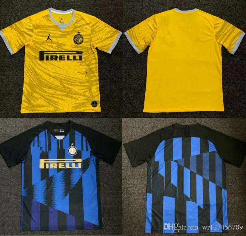 a46ca34ad 2019 19 20 Inter Home Away Jersey CANDREVA EDER ICARDI JOVETIC Milan  Kondogbia Jovetic Icardi Sports Inter Shirts From Wr123456789