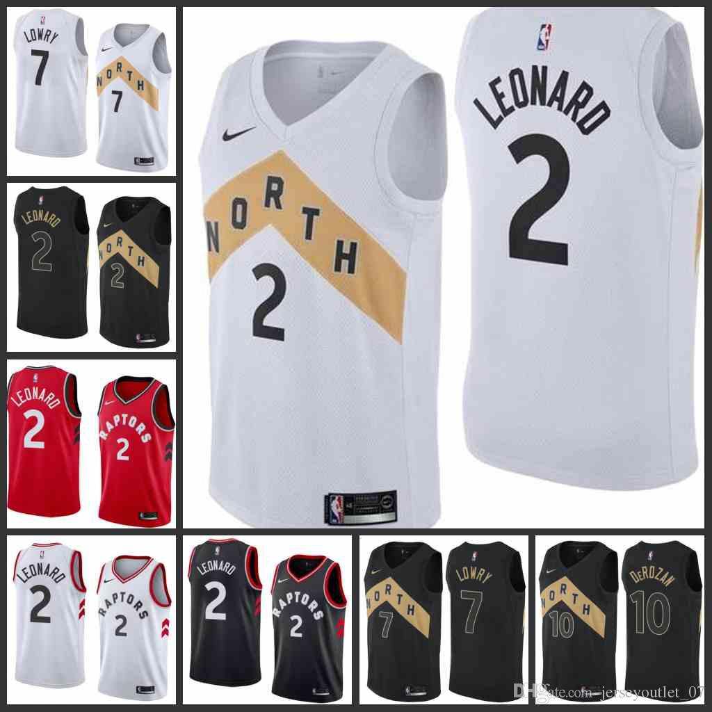 6fb69207389 2018 19 Toronto Men Raptors Jersey Kyle Lowry DeMar DeRozan Kawhi Leonard  City Top Quality Edition Jerseys White Dinner Jackets For Men White Tux  With Black ...