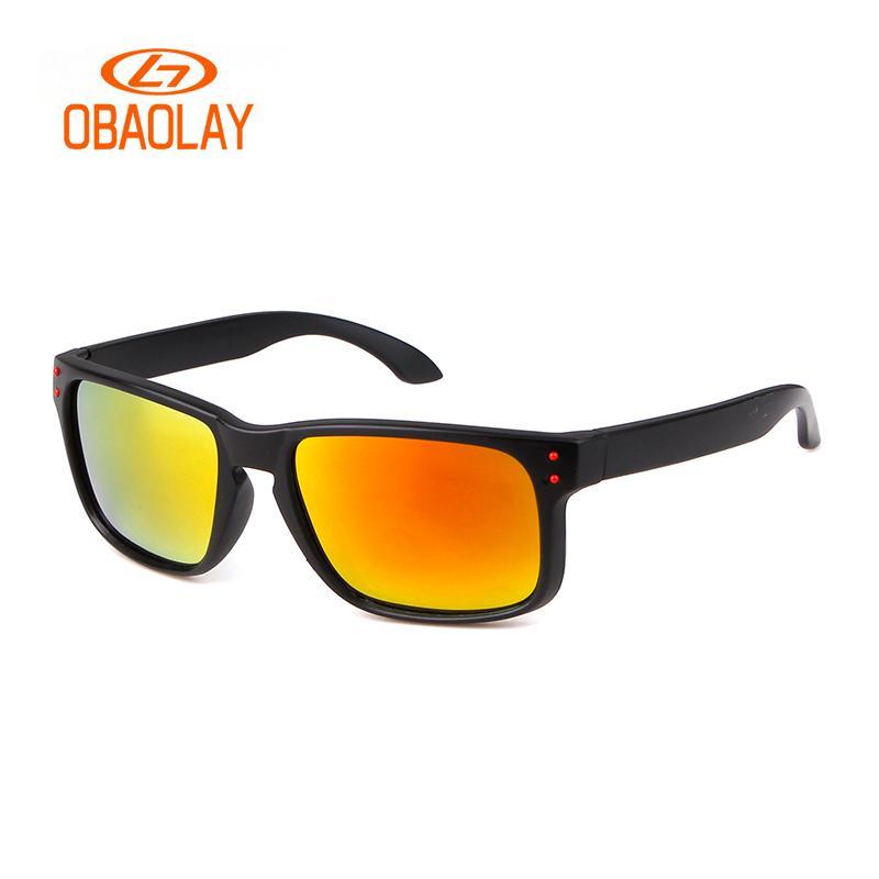 908470baeb5 2018 New Men Sunglasses Polarized Glasses Matte Frame With Rivets Holbrok  Sport Anti UV400 Driving Men Sun Glass Women Las Gafas Womens Sunglasses ...