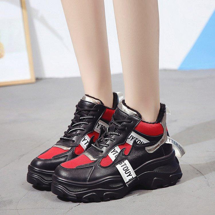 5ed76fa80eaaaf Autumn Winter Fashion Women Casual Sneakers Mesh Platform Shoes Women Plush  Fur Sneakers Ladies White Trainers Zapatos De Mujer Mens Loafers Buy Shoes  ...