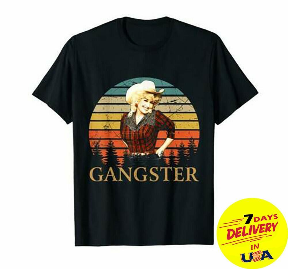 Gangster T-Shirt Vintage Unisex Men Tee Unique Design Tops Summer Men'S Hip Hop Street Extend Men Slim Fit T Shirts