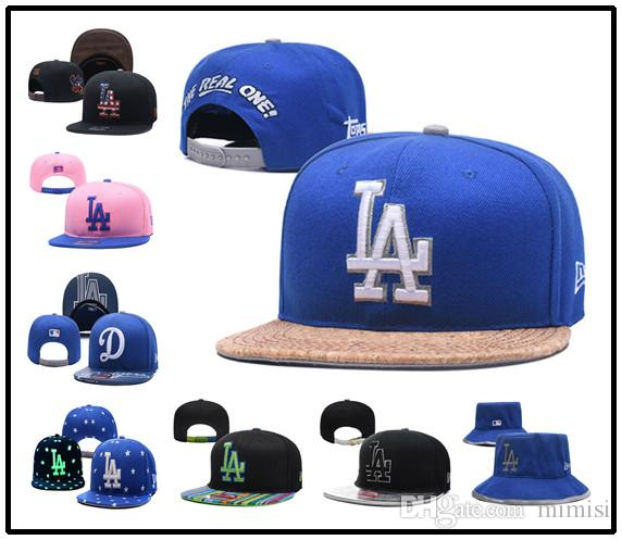 Los Angeles Dodgers New Er 2018 World Series Bound Side Patch 59FIFTY Fitted  Hat Royal Headwear Flat Caps From Mimisi 81f1e6d60fc