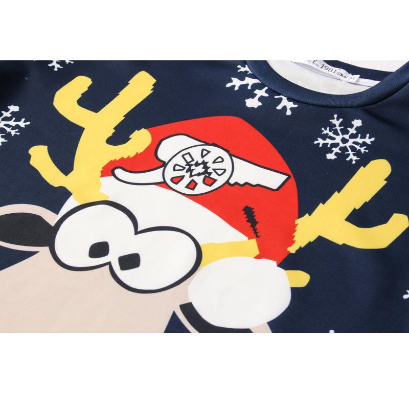 Laids De Noël Pulls 3D Jumper Bonhomme De Neige Cerfs Nouveau Père Noël Noël Motif Chandail Dessus Pour Hommes Femmes Pulls Blusas