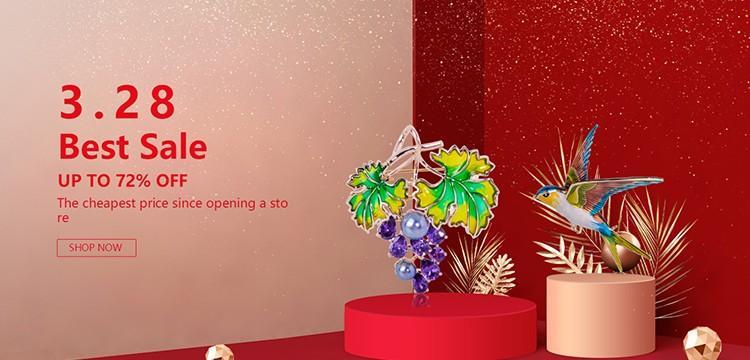 Blucome Retro Türkische Schmuck Set Rot Harz Kristall Blume Anhänger Halskette Ohrringe Sets Frauen Party Hochzeit Geschenk Zubehör