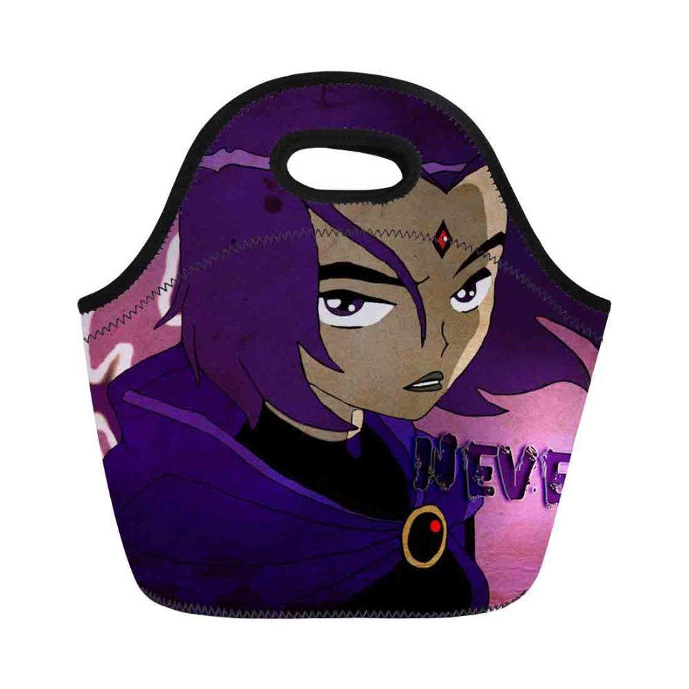 Women Lunch Bag Teen Titan Go Printing Bags For Kids Girls Insulated  Thermal Handbag Bucket Bag Beautiful Simple Style