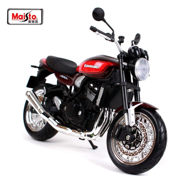 Acheter Maisto 112 2019 Kawasaki Z900 Rs Vin Rouge Moto Moto Modèle