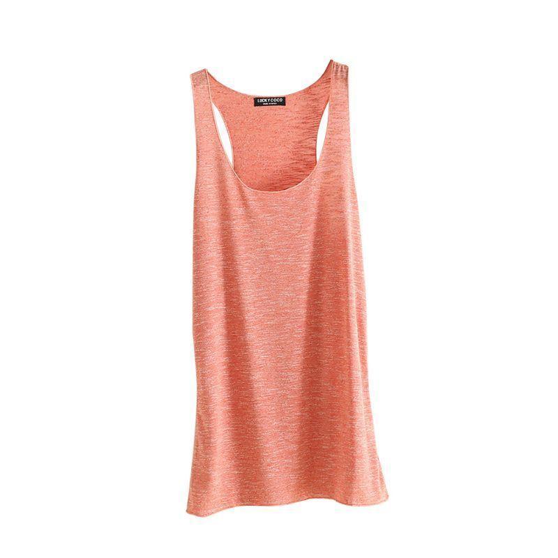 b3cd562c0d 2019 Fitness Tank Top T Shirt Vest Loose Model Women T Shirt Cotton O Neck  Slim Tops Clothes C19041502 From Lizhang03, $5.84 | DHgate.Com