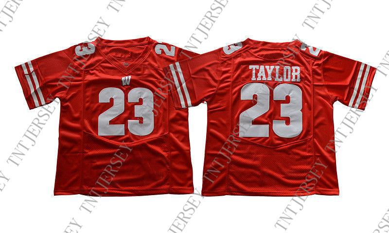 Cheap Custom NEW Jonathan Taylor Jersey  23 Wisconsin Badgers Football  Jersey Red Stitched Customize Any Number Name MEN WOMEN YOUTH XS 5XL UK 2019  From ... 0182c148b