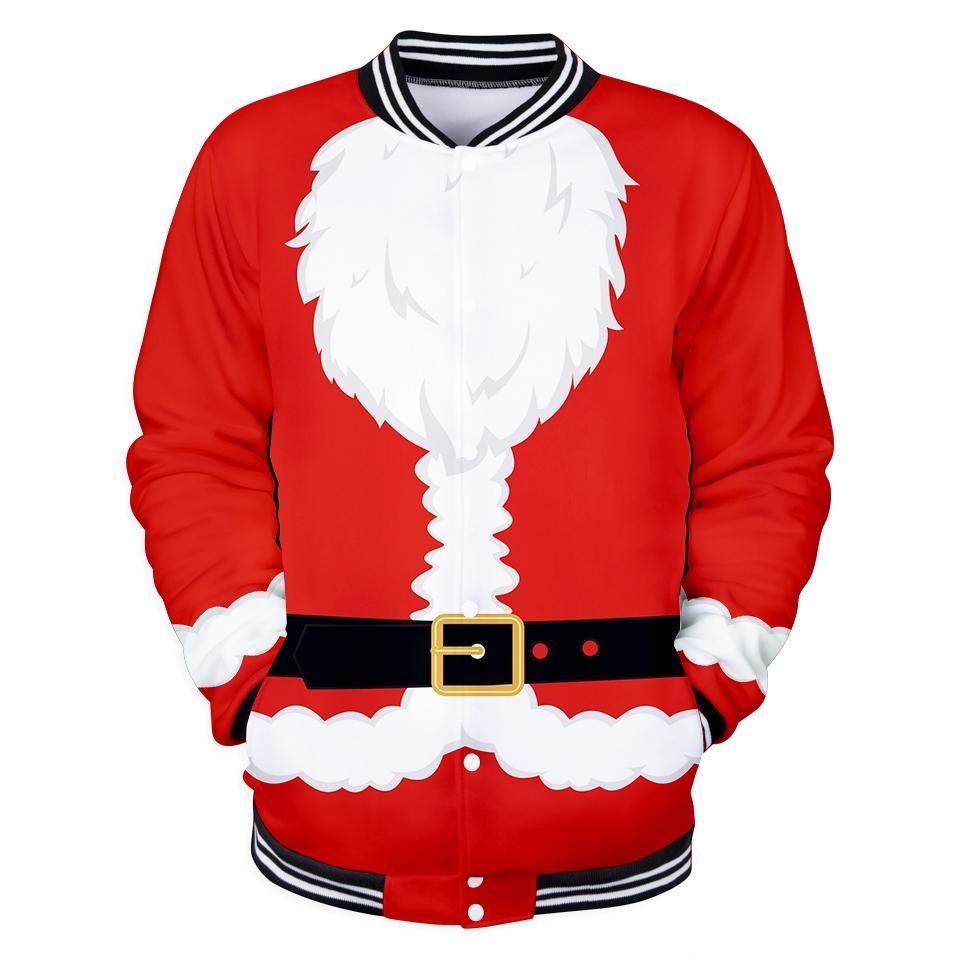 51a24c33af5c 2018 3D Cos Santa Claus Warm Jacket Warm Fashion Pop Women Men 2018 Popular  Soft Coats Casual Jacket Clothes 4XL Fleece Jacket Red Leather Jacket From  ...