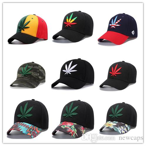 56d3127c New Thread Maple Leaf Designer Camo Floral Hip Hop Stree Caps Color Mixing  Rainbow Snapback Cheap Wholesale Free Shipping