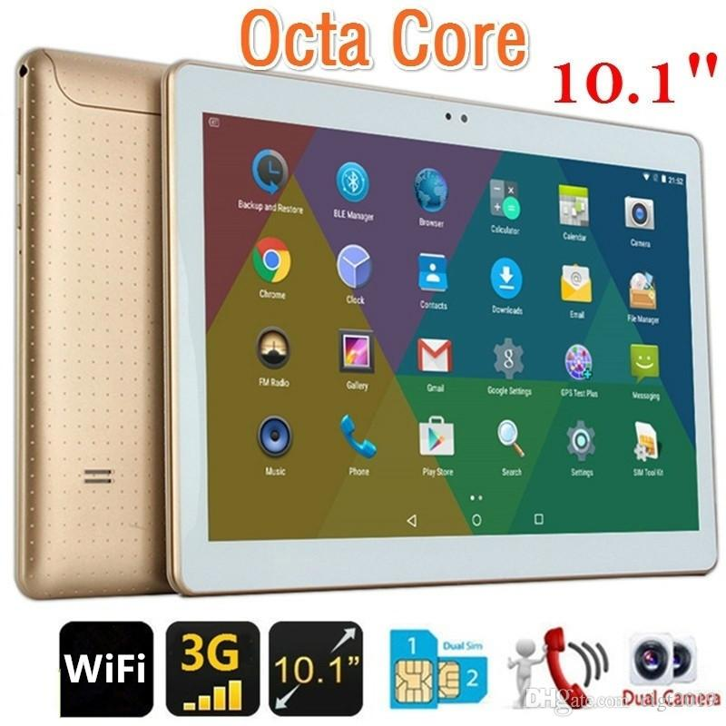 Tablet PC 10.1 pollici MTK6592 4 + 64 GB Android7.0 3G 1920 * 1200 FHD IPS schermo WiFi