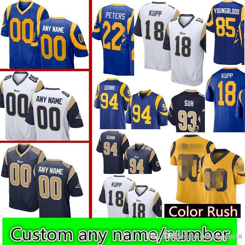 2019 Los Angeles Rams 18 Cooper Kupp 29 Eric Dickerson 22 Marcus