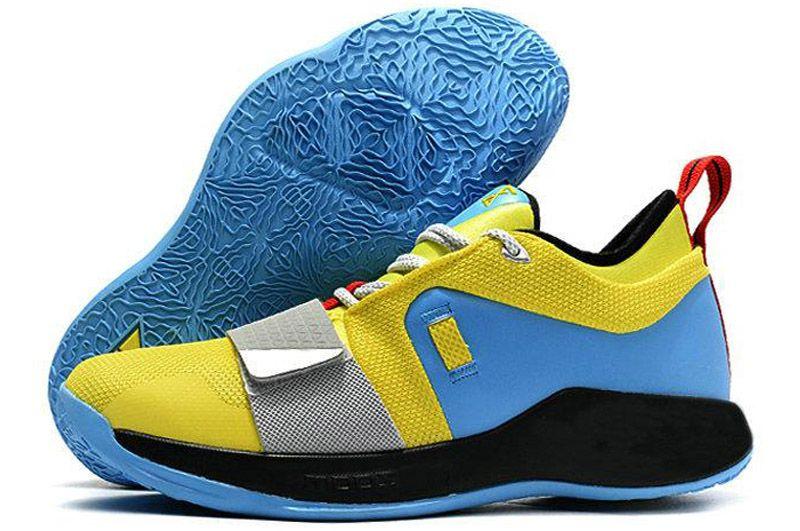 cd29f0de251 Paul George 2.5 Wolf Grey PG Hornets Zapatos De Baloncesto Para Buena  Calidad 2.5s Negro Blanco Azul Hombres Zapatillas De Deporte De Diseño  Tamaño 40 45 ...