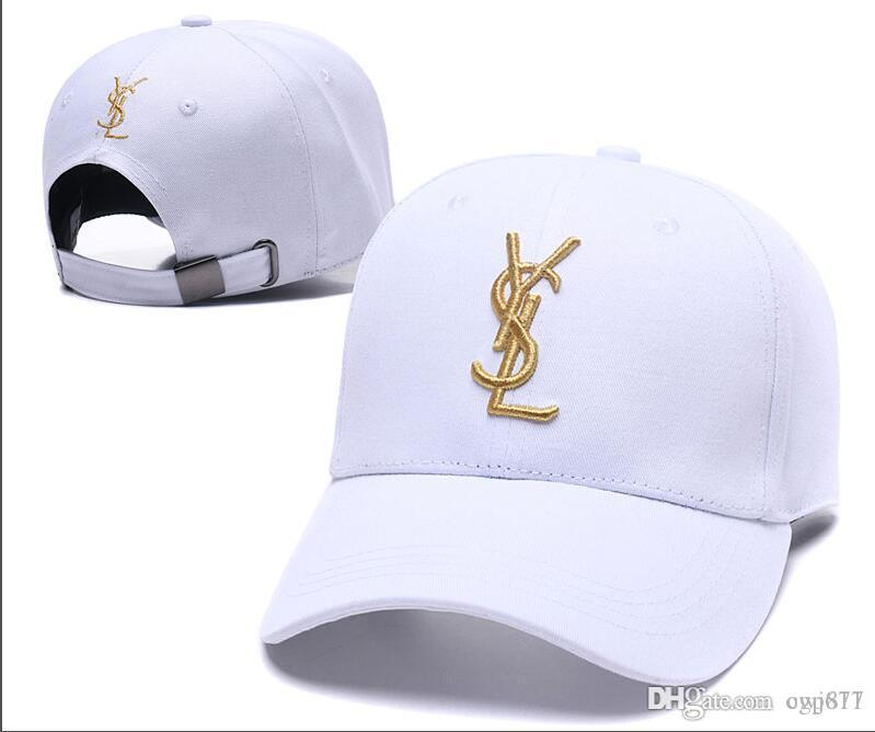 78e5d73aab1 2019 YSL New Luxury Designer Dad Polo Hats Baseball Cap For Men And ...
