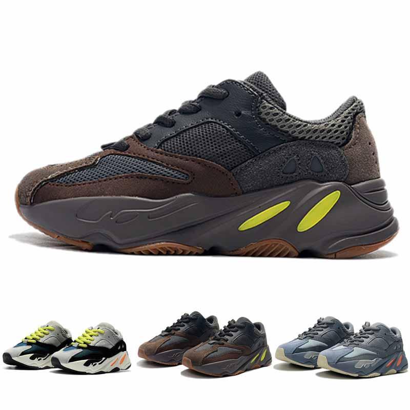 cff3dfdf9 Kids Shoes Kanye West Wave Runner 700 Running Shoes Boy Girl Trainer  Sneaker 700 Sport Shoe Children Athletic Shoes Boys Black Tennis Shoes Gym Shoes  Kids ...