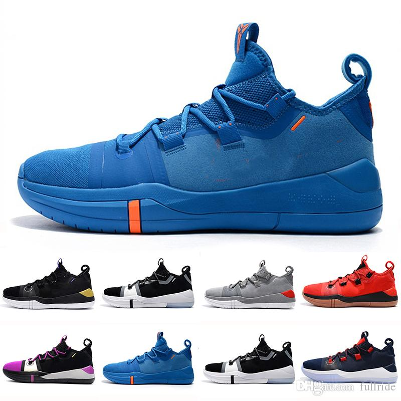 wholesale dealer 0bd18 9edd3 Kobe AD EP Mamba Day Sail Multicolor Men Basketball Shoes Wolf Grey Orange  For AAA+ Quality Black White Mens Trainers Sports Sneakers 7 12 Sneakers  Online ...