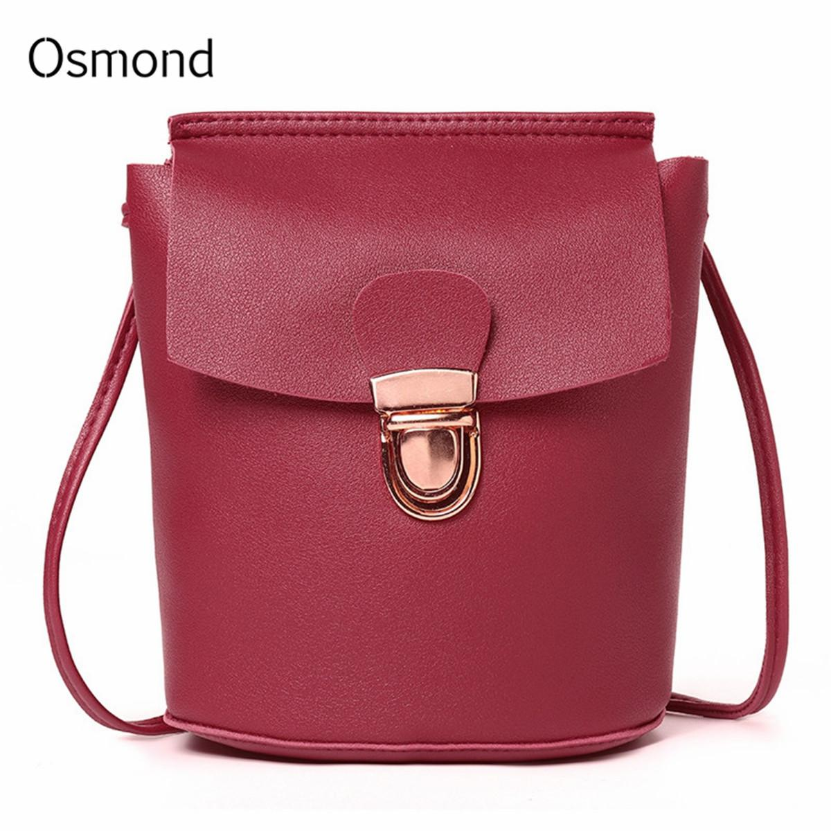 a23bb767d2 Cheap Fashion Crossbody Bags For Women 2019 New Korean Style Mini Hand Bag  Bucket Lock Student Shoulder Bag PU Leather Girls Messenger Bags Shoulder  Bags ...