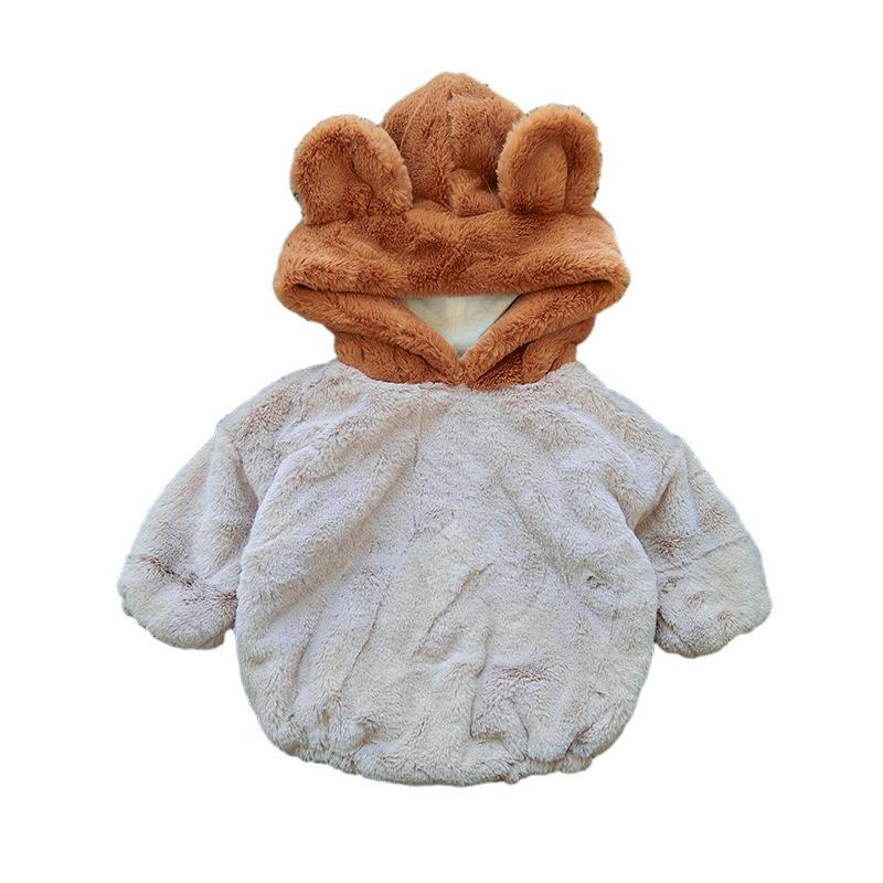 16cc2ba261a Baby Girls Clothing Kids Designer Clothes Winter Baby Bear Ears ...