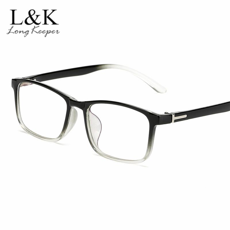 2e09f1c4e9d0 2019 2018 Women Glasses Frame Men Black Blue Eyeglasses Vintage Square  Transparent Frame Clear Lens Glasses Optical Spectacle From Marquesechriss