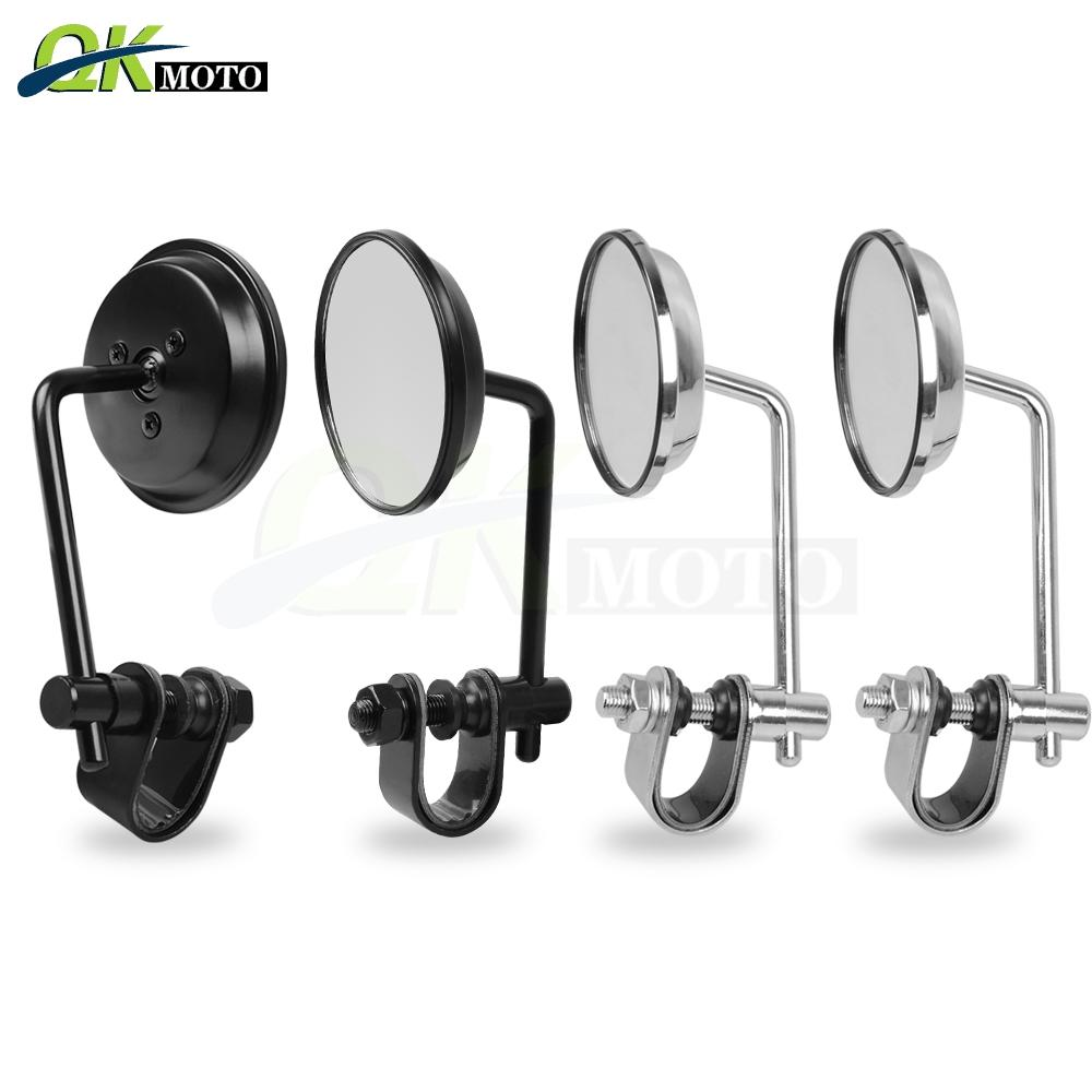 For YAMAHA XMAX 300 250 Tirumph Street Triple Cafe Racer Universal  Motorcycles Rearview Mirrors Hand Grip side Mirrors