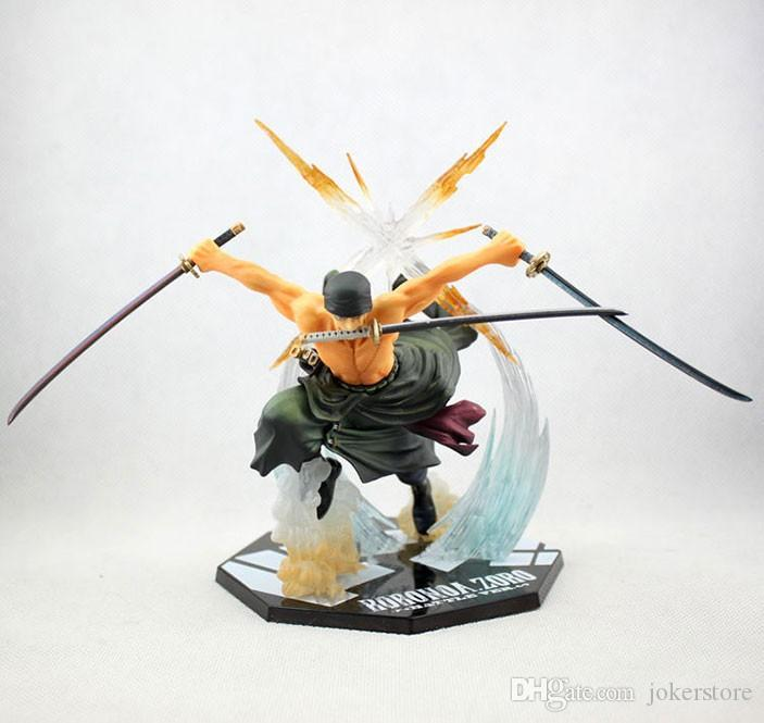 One Piece Roronoa Zoro Anime Figures Action Figure Collectible Moble Hot Toys Birthdays Gifts Doll New Arrvial PVC Free Shipping