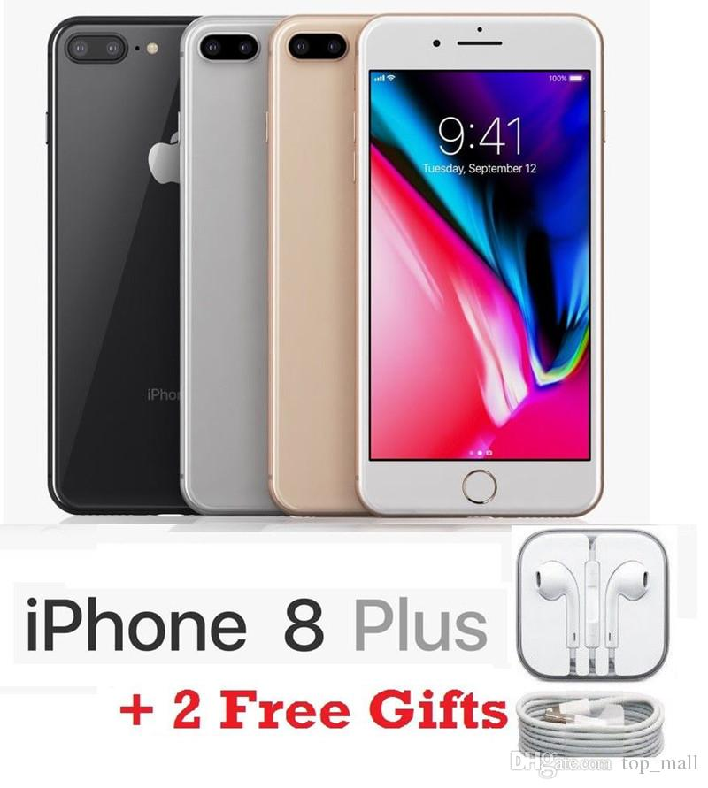 Apple iPhone 8 Plus Factory Unlocked Smartphone 64GB 256GB Two Camera 4G  LTE 5 5 Quad Core Refurbished Phone 8 Plus