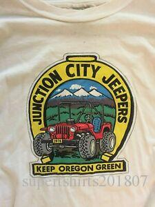 Vintage Junction City Designers Long T-shirt SDesignve Taille XL Oregon Design Buggy Années 90