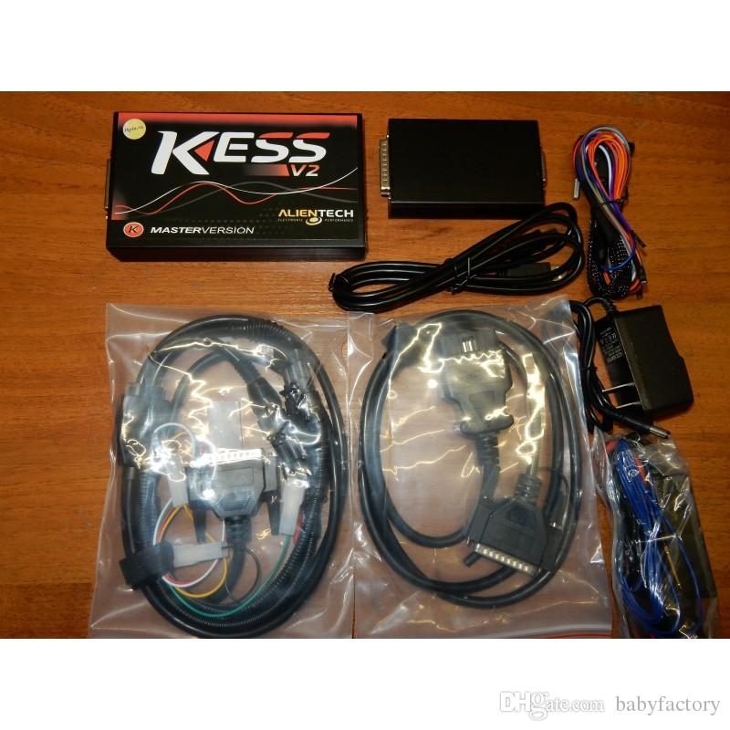 KESS V2 MASTER FW 5.028 WITH VIRTUAL READING professional tool for chip-tuning ECU