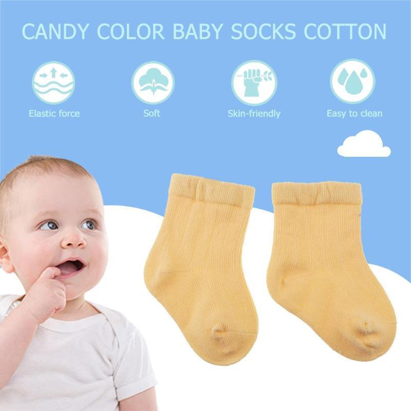 Baby Boy Girl Cartoon Cotton Socks NewBorn Infant Toddler Kids Soft Sock 0-6M