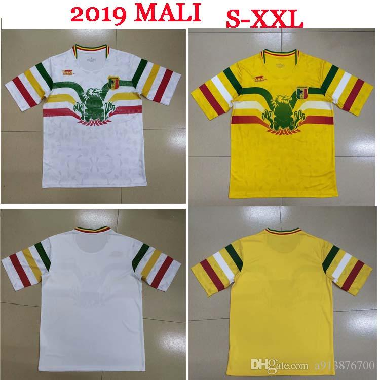 2019 African Cup Mali Home Away soccer jersey Concept Football Shirt les aigles du mali can 19 20 Football Jersey maillot domicile top tha