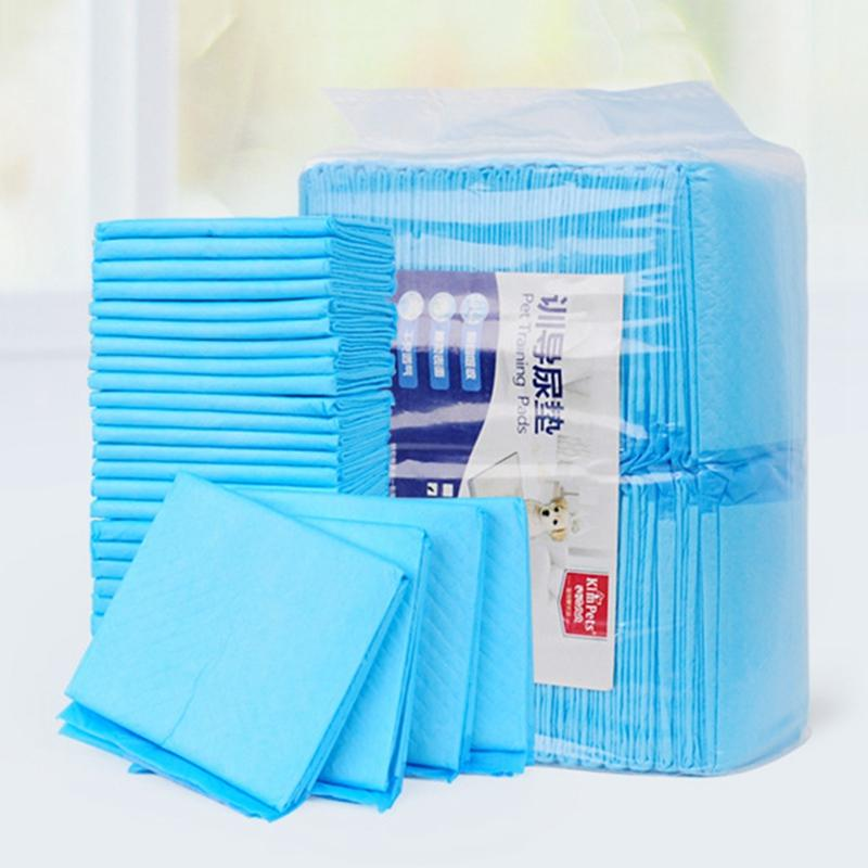 4 Size Pet Diaper Super Absorbent Dog Training Pee Pads Healthy Clean Dog Pads Disposable Dog Diaper Puppy Training Pad