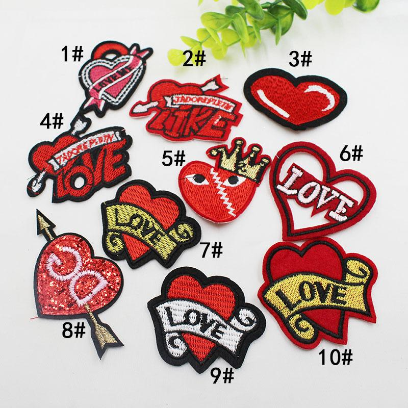 Lip Cloth Paste Funny Colorful Lips Cloth Patch for Kid Sew Applique DIY Garment bag Shoes Accessories KKA6960