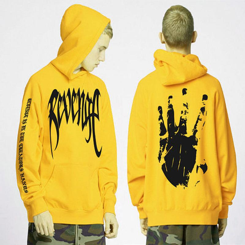 05d481b714e 2019 New Revenge Letter Print Hoodie Sweatshirts Xxxtentacion Hoodies Sad  Rapper Hip Hop Hooded Pullover Swag Cotton Hoody Sweatshirt From Buxue
