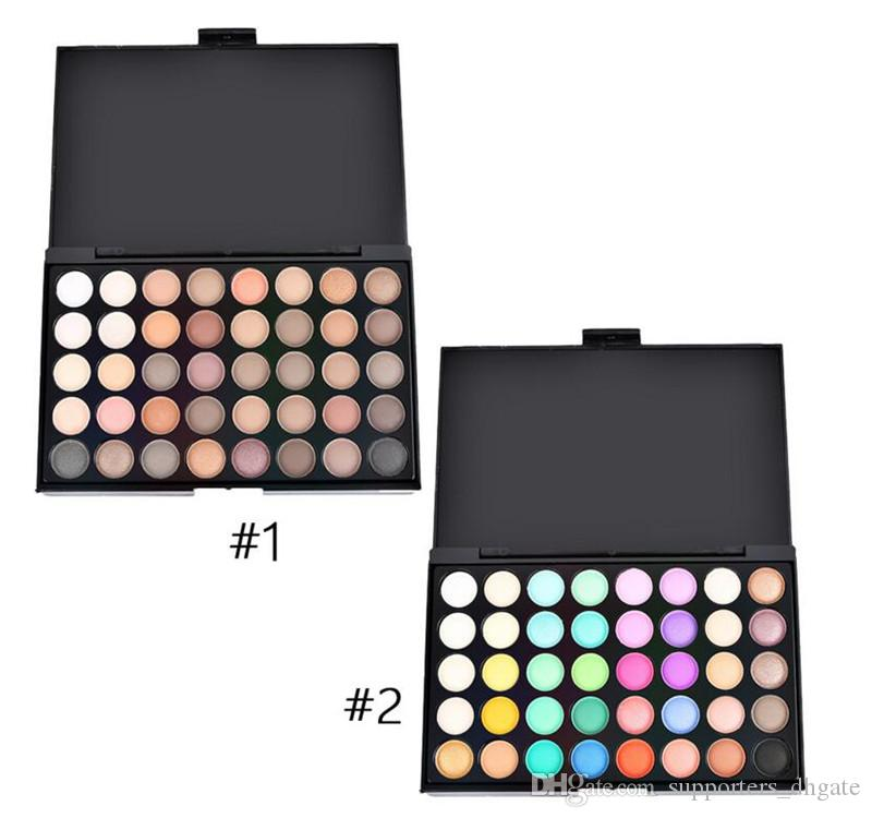 Eye Shadow Beauty Essentials Just Matte Eye Shadow Pallete Make Up Earth Palette Makeup Glitter Waterproof Lasting Makeup Easy To Wear 40 Color