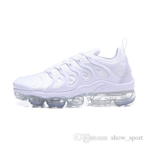 on sale 27327 2df5c Compre Nike Air Vapormax Tn De Diseñador Para Mujer TN Plus TRIPLE NEGRO  Zapatillas De Deporte Blancas Calzado Casual Para Zapatillas De Deporte De  Diseño ...