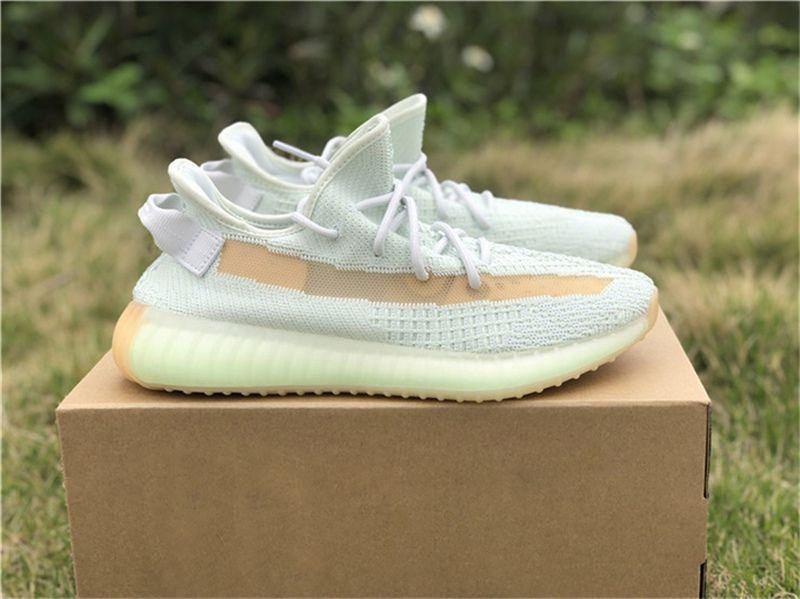 half off 36675 cca60 Acheter 2019 Authentic 350 V2 Hyperspace EG7491 Kanye West Chaussures De  Plein Air Pour Hommes Femmes Véritable Forme EG749 Argile EG7490 Butter  Limited ...