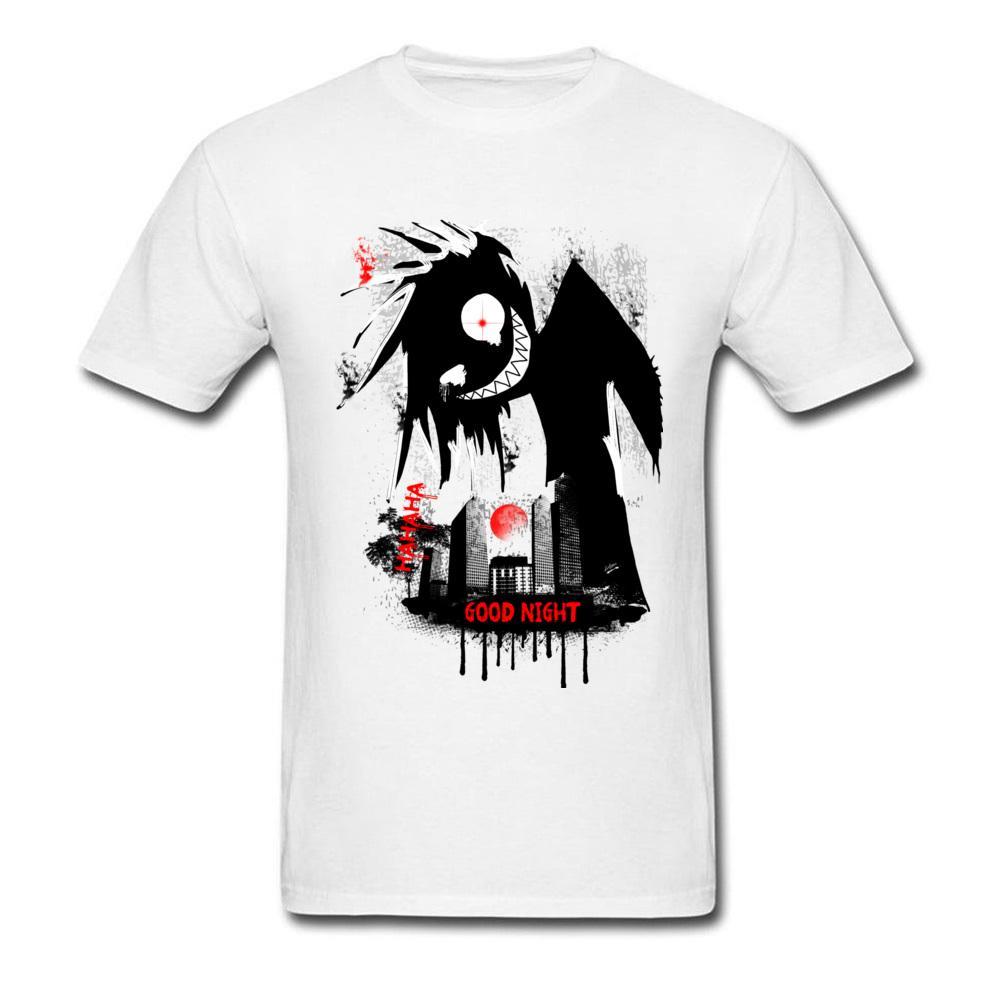 0b590c502 T Camisa Louco T Shirt Dos Homens Do Dia Das Bruxas Tshirt Preto Branco  Vestuário Cheshire Sorriso Caras Tops Tees De Algodão Tinta Pintura De  Fitness De ...