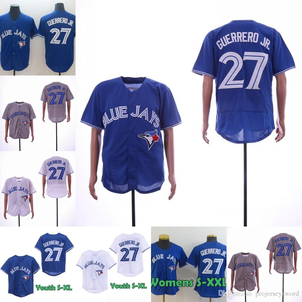 cb953c70 2019 27 Vladimir Guerrero Jr. Jersey Mens Lady Youth Toronto Best Seller Vlad  Guerrero Jr. Blue Jays 100% Stitched Baseball Jerseys From Projerseysword,  ...
