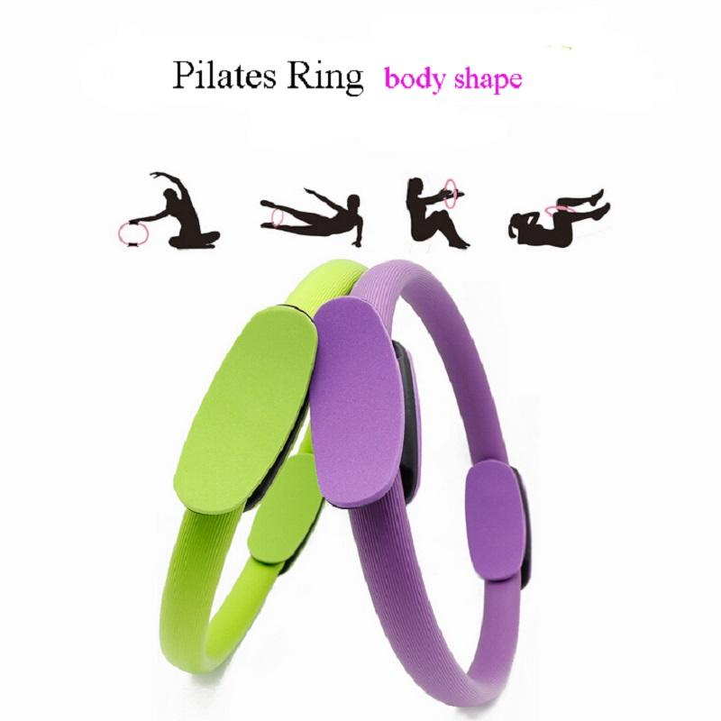 Hearty Pack Of 20 Pilates Ring 14.9 Exercise Fitness Circle With Dual Grip Handles For Entire Body Gym Yoga Resistance Training Shoes